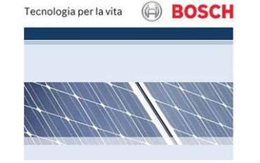 Bosch: pannelli solari di qualità tedesca