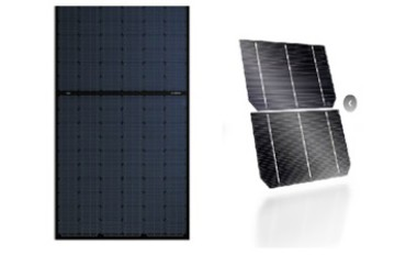 Bosch black 275 W half cell: strong performance with the best design