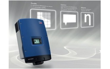SMA:  threephase inverter for commercial pv plants