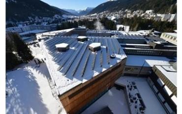 Impianti Fotovoltaici ottimizzati con la tecnologia SolarEdge: anche al Centro Congressi di Davos