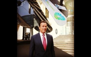 Schwarzenegger testimonial di smartflower™