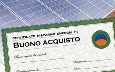 Certificati Bianchi: ottieni il Bonus VP Solar