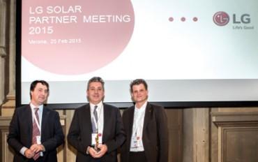 VP Solar vince anche in Europa: insignita dell'LG Awards 2014
