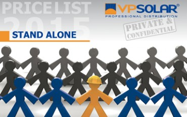 Off-Grid systems: VP Solar qualified distributor since 1999