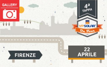 4^ tappa VP Solar on Tour: FIRENZE
