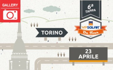 6^ tappa VP Solar on Tour: TORINO