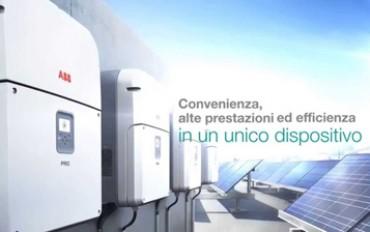 ABB: autoconsumo negli impianti industriali con i nuovi inverter