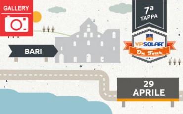 7^ tappa VP Solar on Tour: BARI