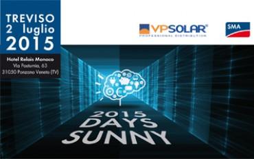 VP Solar partner del Sunny Day SMA di Treviso il 2 luglio
