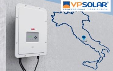 ABB Uno Solar Day: il 4 novembre a Roma con VP Solar