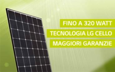 Moduli solari LG: la serie NeON 2