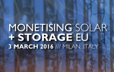 VP Solar partecipa a Monetising Solar + Storage EU
