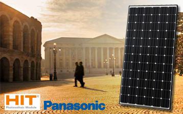 moduli solari panasonic