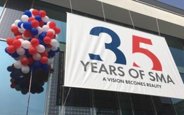 VP Solar in SMA 35th anniversary
