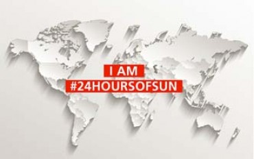 Fronius: 24 hours of sun