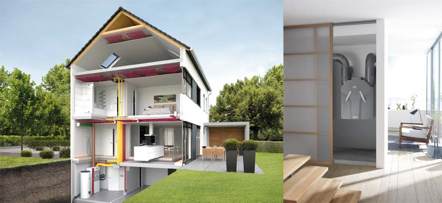 Ventilazione meccanica controllata vmc - Ricircolo aria casa ...