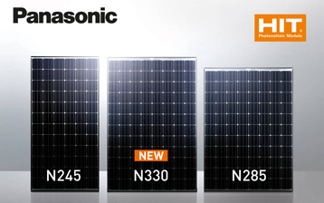 Panasonic solar modules