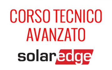 corso tecnico avanzato solaredge
