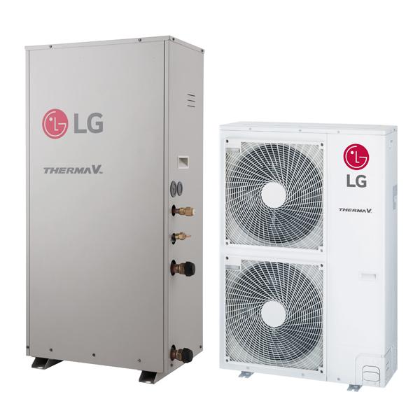 Therma v pompa di calore aria acqua lg vp solar for Costo pompa di calore aria acqua