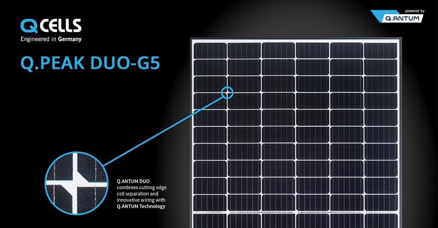 45 kW Solar PV system using LG Neon 320 watt all black solar