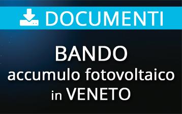Bando Storage Regione Veneto